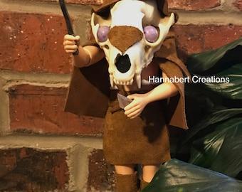 Fantasy Art Oddity Doll: Warrior