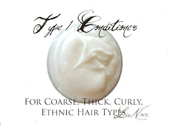Type 1 Conditioner Small Size Thick Dry Coarse Hair Types