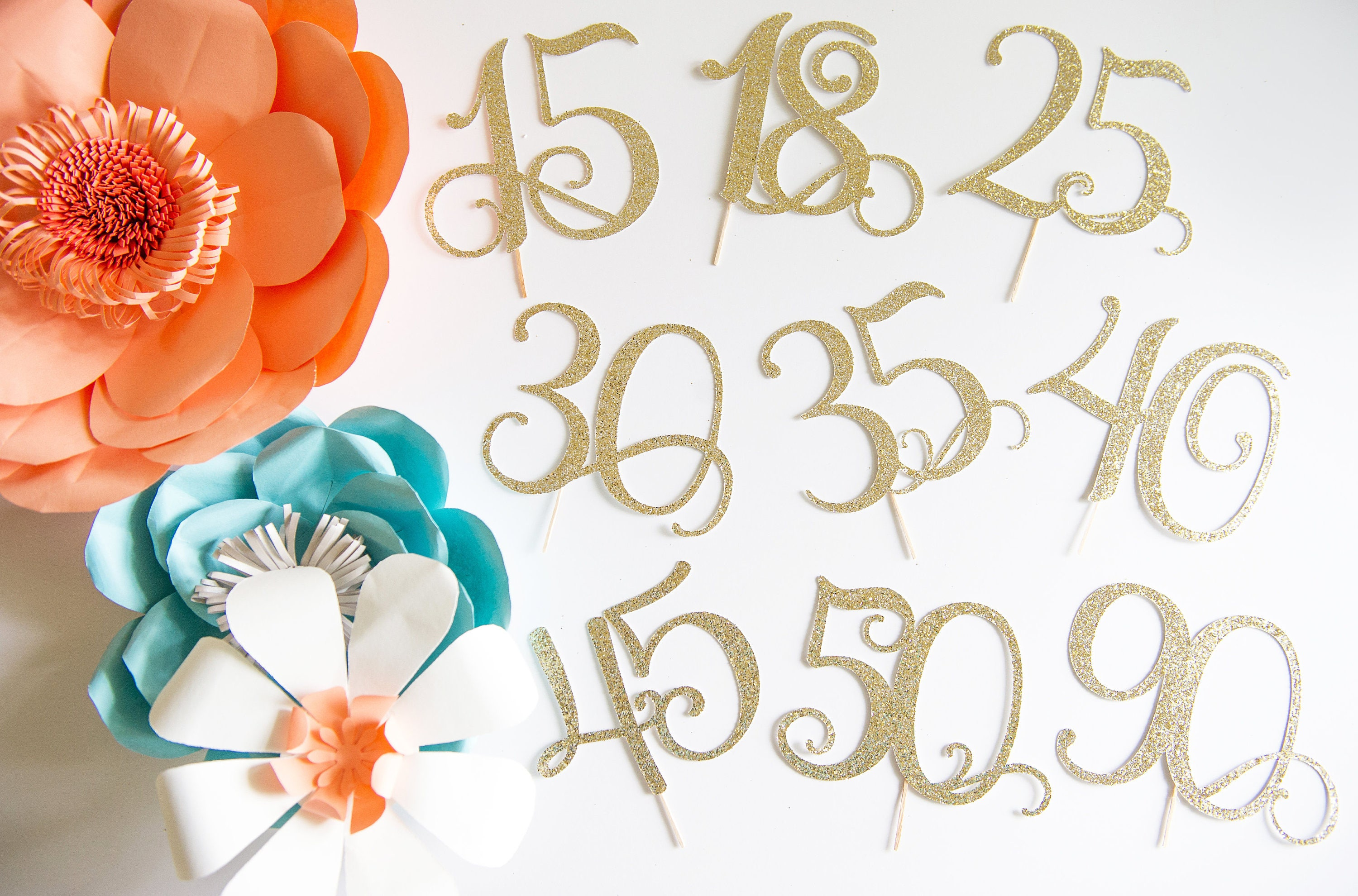 65th Wedding Anniversary Gift Ideas: 65th Birthday Party Ideas 65 Cake Topper