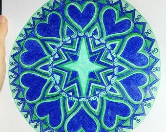 Heartfelt mandala