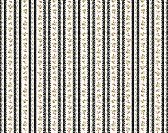 Black Flannel Fabric - Welcome Home - Maywood - F8364M-J