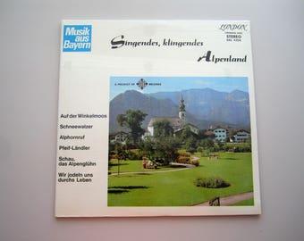 Singendes, Klingendes Alpenland - Music From Bavaria - SEALED Vintage Vinyl Record