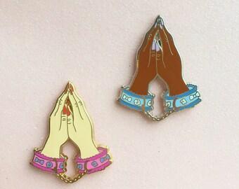 Say a Little Prayer Enamel Pin