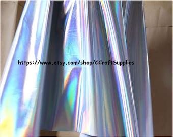 Holographic Fabric Etsy