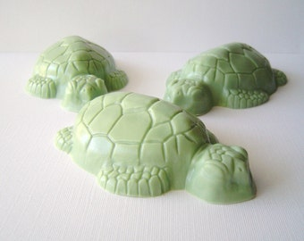 Green Sea Turtle - Goat Milk Soap - Watermelon Scented - Sea Creature - Children Gift - Party Favor - Novelty - Christmas - cute soap - kid