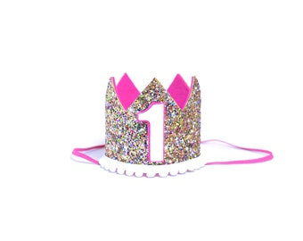 First Birthday | Birthday Girl Outfit | Baby Birthday Crown | Girl Birthday Crown | First Birthday Crown | 3rd Birthday Crown