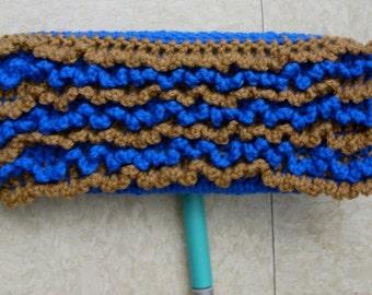 Blue Swiffer Cloth - Beige Swiffer Cloth - Brown Swiffer Cloth - Blue Floor Dusting Cloth - Brown Floor Dusting Cloth - Reusable Swiffer