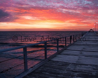 Sunset at Long Jetty, Adelaide