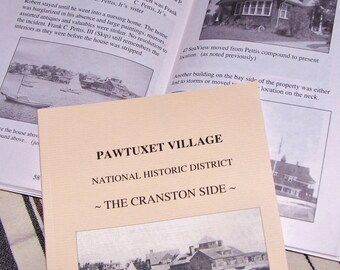 Pawtuxet Village - The Cranston Side