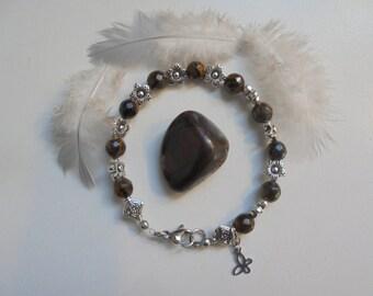 Natural stone Tiger eye bracelet