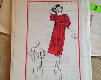 Prominent Designer Dress Pattern UNCUT