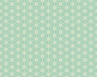 Riley Blake Designs, Sidewalks, C3485 Teal