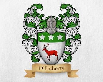 O'Doherty Family Crest - Print