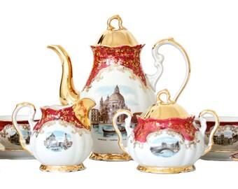 Venetian Tea Set