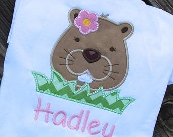 Groundhog Day Shirt for Kids, Beaver Shirt