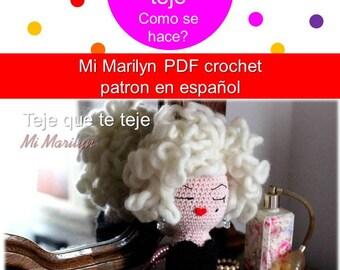 AMIGURUMI - Mi Marilyn