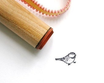 Small  Bird Rubber Stamp