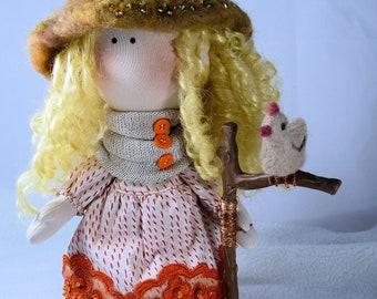 Textile Doll Halloween/Kitchen Witch