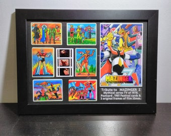 Box mounting tribute to Mazinger Z