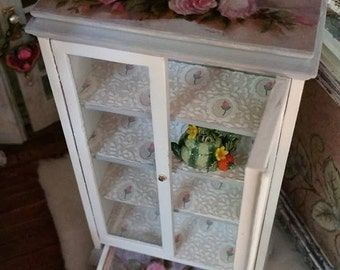 Dollhouse Curio Dresser bookcaseDisplay Cabinet bookcase