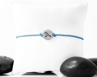 Tiny Bird, Robin,  Friendship Bracelet, Bird Charm, Bird Bracelet, Silver Bird, Bird Bracelet, Bird Jewelry, Bird Lover Gift