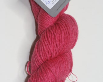 hand dyed worsted weight yarn 100% merino - There was Room for Jack