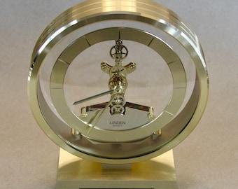 Collectible Linden Skeleton Japan Cuckoo Co Quartz Clock