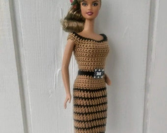 Clothes for Barbie Crochet Dress for Barbie Doll