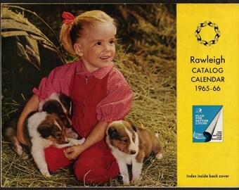 Rawleigh Calendar, 1965-6, Calendar, Vintage Calendar, Old Calendar