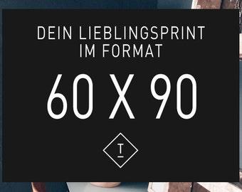 60 x 90 cm / Fine Art-Print, Wall-Art, Minimal Poster Art, Typography Art, Premium Poster, Kunstdruck Poster