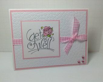 Get well , pink, prayer