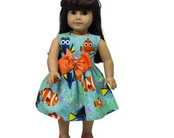 18 inc Doll dress  18 inch doll dress Made to fit all dolls like American Girl  18 inch doll clothes doll dress , doll clothes