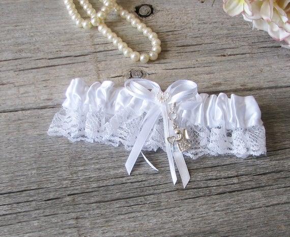 Brides Garter Charm Set