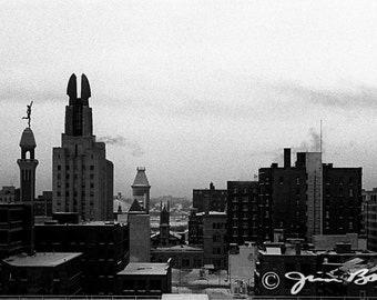 Skyline to the West, Rochester, NY [Image #249]