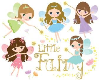 Fairy Clipart Fairy Clip Art Fairy Princess Clipart Cute Angel Clipart Little Fairy Clipart Little Angel Clip Art Fairy Digital Sticker