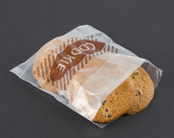 "25 Clear ""Cookie"" Bags"