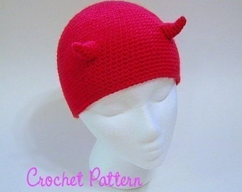 Crochet Pattern: Imp Beanie