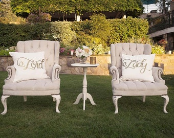 Hopeless Romantic Lord and Lady Pillows