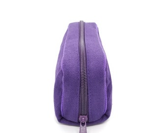Essential Oil Carrying Case made of high quality canvas with Zipper different color options travel bag toiletry bag organizer
