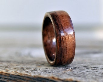 Wood Ring, 5 Year Anniversary Wooden Ring, Custom Wooden Ring  Men Wood Ring Men Ring  Mens Jewelry Mens wooden ring  Wood rings for men
