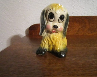 SAD Eyes Doggy Planter - 1950s - excellent condition