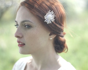 Star Hair Pin, Star Headpiece, Shooting Star Hair Pin, Celestial Hair Jewelry, Bridal Hair Pin, Wedding Hair Pin