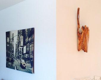 Driftwood Art, Reclaimed driftwood, wall art, natural Art, Wood Sculpture