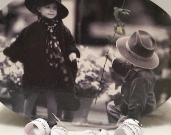 """Black and White Photograph, Grammy Gift. Mother's Day Gift, Stepmother Gift Memory Box""""Growing up ME! Memory Compendium©"""" Mary Lynn Savko"""