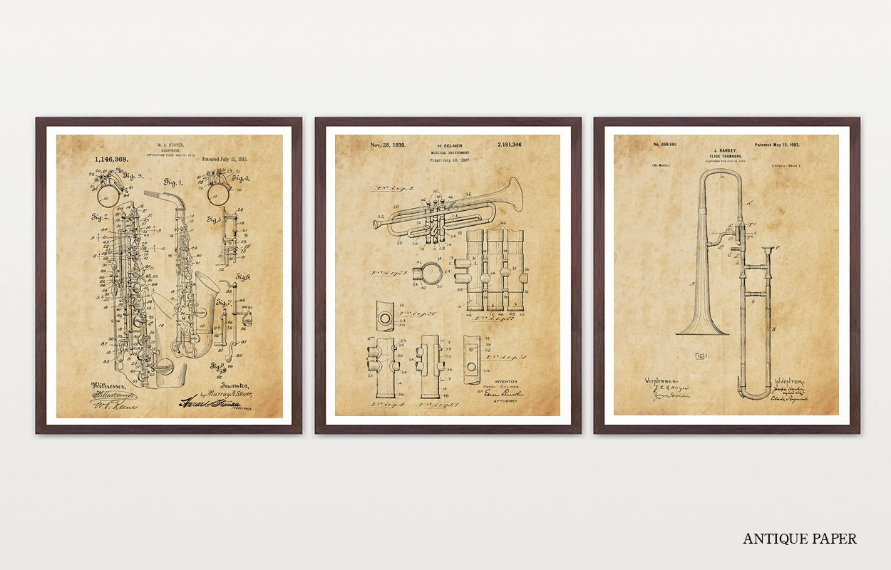 The Horn Section Horn Patent Saxophone Patent Trumpet
