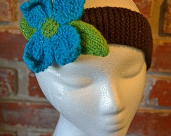 knitted teen-adult size headband