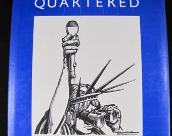 Drawn and Quartered: Paul Conrad The Best Political Cartoons // 1985 Author SIGNED // Paul Conrad //  ISBN 0810912910