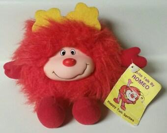 "Rainbow Brite ""Romeo""/Red Happy Talk Sprite/Vintage 1983 Taco Bell Promo Plush Toy"