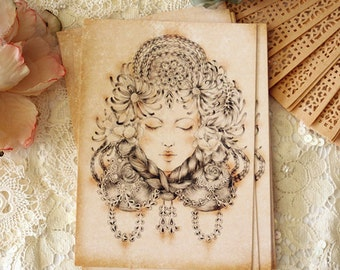 Postcard - Flora