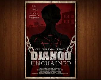 Django Unchained Poster (Multiple Sizes)